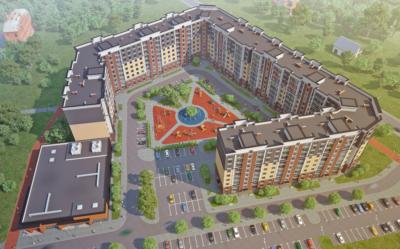 Многоквартирный жилой дом с нежилыми помещениями по О. Кошевого - Аллея Смелых в г. Калининграде 4