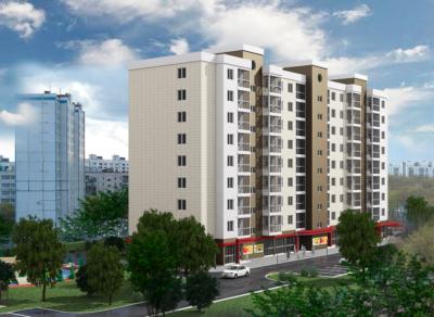 Многоквартирный многоэтажный жилой дом с нежилыми помещениями по ул. Интернациональной в г. Калининграде 4