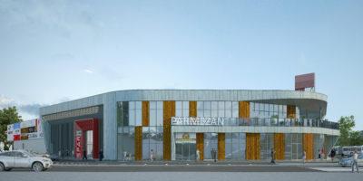 Здание магазина с закусочной и помещениями по оказанию услуг населению по ул. Литовский вал, 2, в г. Калининграде