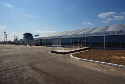 Здание пассажирского терминала в международном аэропорту Калуга (Грабцево) 2